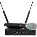Shure QLXD24/B87A-H50 Beta 87A Vocal System - (534 - 598 MHz)