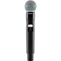 Shure QLXD2/Beta58A-J50 Handheld Transmitter with Beta58A Microphone - (572 - 63