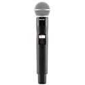 Shure QLXD2/SM58-J50 Handheld Transmitter with Beta58A Microphone - (572 - 636 M