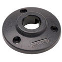 Shure RPM640 Locking Mounting Flange for Microflex and Easyflex Gooseneck Microphones - Black