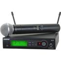 Shure SLX24/SM58-H19 SLX2/SM58 Handheld Transmitter with SM58 Microphone - H19 542 - 572 MHz