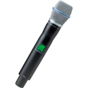 Shure UR2/BETA87A Handheld Transmitter with BETA87A Microphone - G1 (470-530 MHz)