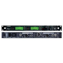 Shure UR4D-H4 Dual Channel Diversity Receiver with IEC Power Cable - H4 518-578MHz
