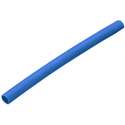 Heat Shrink Tubing 3/8in. Blue 4 Foot