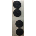 Round (Fuzz/Hooks) Replacement Velcro for the SK-1700 Security System - Set of 2