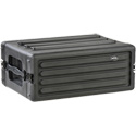 SKB 1SKB-R4S 4U Shallow Roto Rack With Steel Rails (Front/Back)