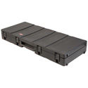 SKB 1SKB-R5220W Low Profile Roto Molded 76-Note Keyboard Case with Wheels