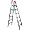 GPL SLD-D7 7Ft Folding Double Sided Ladder with Type II 225lb Rating