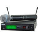 Shure SLX Wireless System With BETA87A Handheld Mic - G4 470-494Mhz