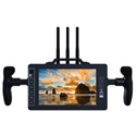 Small HD MON-703BOLT-GM 7-Inch Full HD Monitor with Directors Handles and Gold Mount Battery Plate