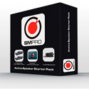 SM Pro Audio Active Speaker Pack - NanoPatch/Isolation Pads/XLR/TRS Cables