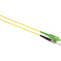 Camplex SMS9-ASC-ST-001 APC SC to UPC ST Singlemode Simplex Fiber Optic Adapter Cable  - Yellow - 1 Meter