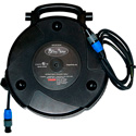 Stage Ninja SPK-58SP 58 Ft. Retractable Neutrik NL2FC to 1/4-Inch Speaker Reel