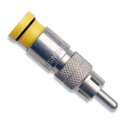 SNS1P6RMR Snap-N-Seal RCA Connector with Yellow Sleeve