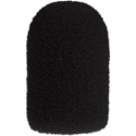 WindTech 1400 Series Model 1412 Black Windscreen For Aviation/Military and Aerobic type Microphones