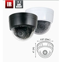 Speco CVC5825DNV Intense IR Dome Camera - DC Auto Iris VF Lens 2.8-12mm Black Housing