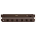 Geist SPTN064-10 Rear 6-Outlet 15 Amp Rackmount Power Strip