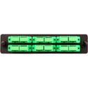 Cleerline SSF-SC12-SM-OS2-APC Plate (Green) SM/APC (OS2) Duplex SC 12-Fiber Zirconia Ceramic Sleeve