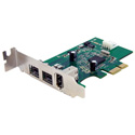Startech PEX1394B3LP 3 Port 2b 1a 1394 PCI Express FireWire Card Adapter