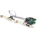 Startech PEXSOUND7CH PCIe 7.1 Channel Surround Sound Card - SPDIF Audio