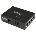 StarTech POEINJ4G 4Pt GbE PoE Midspan - Power over Ethernet Injector