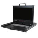 StarTech RACKCOND17HD 1U 17 Inch HD 1080p Dual Rail Rackmount LCD Console