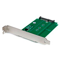 StarTech S32M2NGFFPEX M.2 to SATA PCI / PCIe Slot Mounted SSD Adapter
