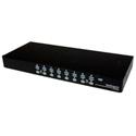 StarTech SV1631DUSBUK 16 Port 1U Rackmount USB KVM Switch Kit with OSD and Cables