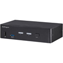 StarTech SV231DPU34K 2-Port DisplayPort KVM Switch - 4K 60Hz