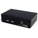 StarTech SV231DVIUAHR 2 Port High Resolution USB DVI Dual Link KVM Switch with Audio
