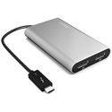 StarTech TB32DP2 Thunderbolt 3 to Dual DisplayPort Adapter - 4k 60 Hz