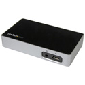 StarTech USB3VDOCK4DP Universal USB 3.0 Laptop Dock for Hot Desks -4K DP