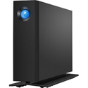LaCie STHA10000800 D2 Professional Desktop Drive USB 3.1-C 7200RPM with Rescue - Black - 10TB