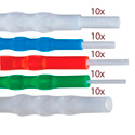 Sticklers VM CleanStixx Swabs Fiber Optic Connector Variety Pack - 50-Pack