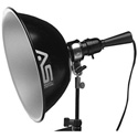Smith Victor A10UL Adapta-Light with Umbrella and Stand Mount - 10 Inch