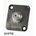 Switchcraft EHFF2B EH Series F Type to F Type - Black Finish