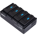 SWIT LC-D420F 4-Channel Simultaneous DV Battery Charger for SONY L Series Batteries