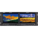 SWIT M-1093H Dual 9-inch FHD Rack LCD Monitor