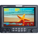 SWIT S-1071F 7 Inch HDSDI & HDMI Waveform LCD Monitor with S-7004F Battery Mount