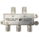 Blonder Tongue Solder Back 5-1000 MHz In-Line 4 Way RF Splitter