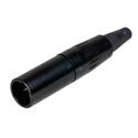 Switchcraft TA5MBX Tini-QG Mini XLR 5 Pin Male Cable Mount Silver Pins Black