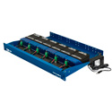 Fiberplex TDR-01-AC 6 Position Powered Rack for TD Series Modules