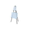 TestRite 9006B 6ft Aluminum Display Easel - Black