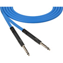 ADC-Commscope B1B Bantam to Bantam Audio Patch Cable Nickel Blue - 1 Foot