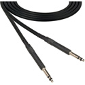 ADC-Commscope DA1 Nickel Longframe Digital Audio Patch Cord Black - 1 Foot