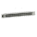TE Connectivity PPE1226-CJ52-BK 1RU 2x26 Straight-Through ProPatch Patch Panel