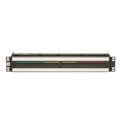 TE PPI15232-CJM-BK1.5RU 2x32 Mid-Size HD Straight-Thru non Terminating Video Jackfield