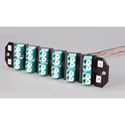 ADC-Commscope TFP-24APRQ5SB3 SM LC 12 Adapters/24 Ports w/Pigtails Right Angle