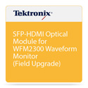 Tektronix WFM220AUPSFP Adds Optical Interface Support to WFM2200 Waveform Monitors (Includes 1 SFP Module)