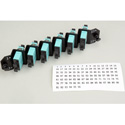 ADC-Commscope TFP-12APLC4 Left Angle 6-Channel Duplex Multimode SC Fiber Cassette (AQUA)